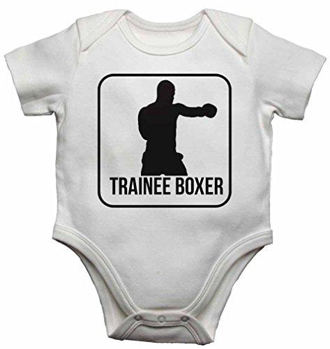 Baby Westen Bodys Baby wächst für Jungen, Mädchen–weiß weiß weiß 18-24 Monate (Herren-boxer Strampelanzug)