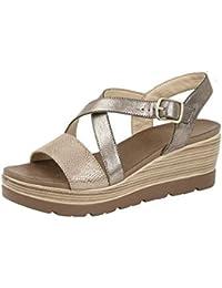 af40b497b Cipriata Ladies Clarice  Cross Over Buckle Wedge Heel Sandal
