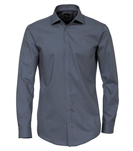 Michaelax-Fashion-Trade -  Camicia classiche  - Basic - Classico  - Maniche lunghe  - Uomo Blau (101)