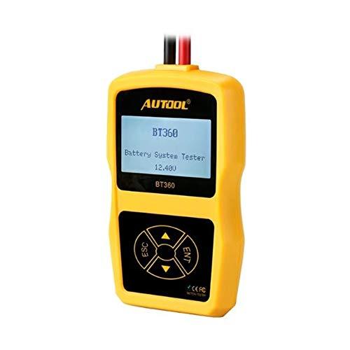 CArzy Autobatterietester Lade System Analyzer Mit LCD Display Zum üBerprüFen Der Auto-Batterie