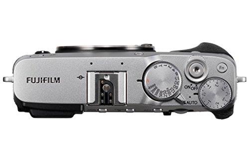"""Fujifilm X-E3 Fotocamera Digitale 24 MP, Sensore CMOS X-Trans III APS-C, Schermo LCD Touchscreen 3"""", Filmati 4 K, Bluetooth, Argento"""