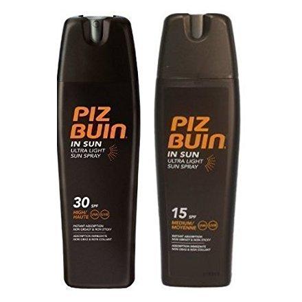 Piz Buin Ultra Hell Sonnencreme Sprays Spf 15 Und SPF 30-200ml