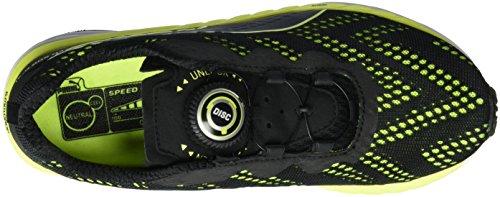 Puma Unisex Adulto Speed 500 Ignite Disco Scarpe Da Corsa Nere (puma Nero-sicurezza Giallo 03)