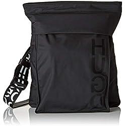HUGO Urban_ns Zip, Sacs portés épaule homme, Noir (Black), 5x33x26 cm (B x H T)