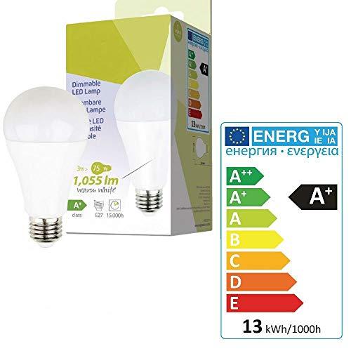 TronicXL Grow Lampe Wachstum A67 E27 13W 2700 K Spot Growing LED Aufzucht Steckling
