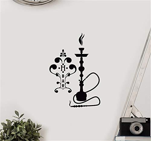 Wandtattoo Kinderzimmer Wandtattoo Wohnzimmer Shisha-Bar Shisha-Arabisches Rauchen