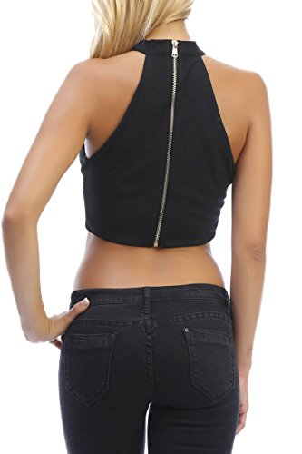 INFINIE PASSION - NOIR - CROP TOP Noir