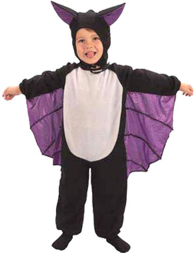 Toddler cute bat suit halloween fancy dress costume 2-3 years (disfraz