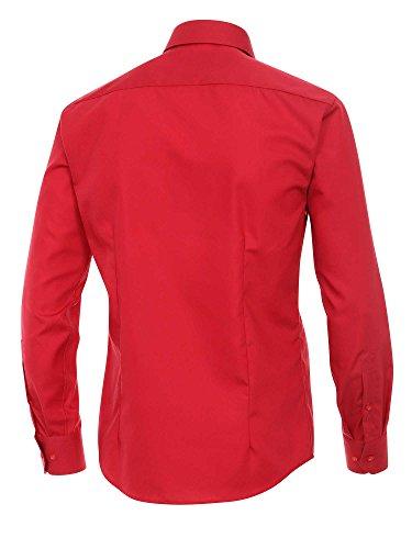 Venti Herren Slim Fit Businesshemd 001480/600 Rot