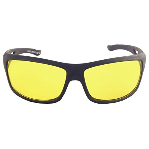 Nightdrive Driving Easy Day & Night Hd Vision Anti-Glare Polarized Women's/Men's Sunglasses(58,Yellow)