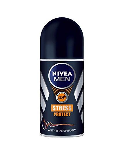 Nivea Men Deo Stress Protect Deoroller, Antitranspirant, 6er Pack (6 x 50 ml)