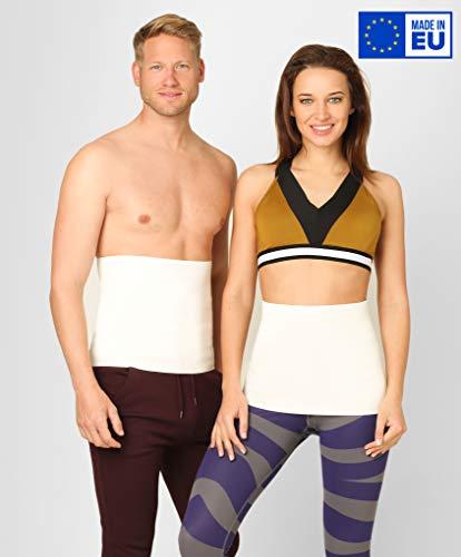 BeFit24 Nierenwärmer Medizinische Qualität aus Angora & Merino Wolle für Damen und Herren - Rückenwärmer - Rücken Wärmegürtel - Nierengurt - [ Size 4 ]