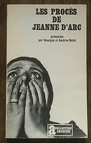 Les procs de Jeanne d'Arc Prsent par Lon Poliakov Coll Archives Julliard 1973