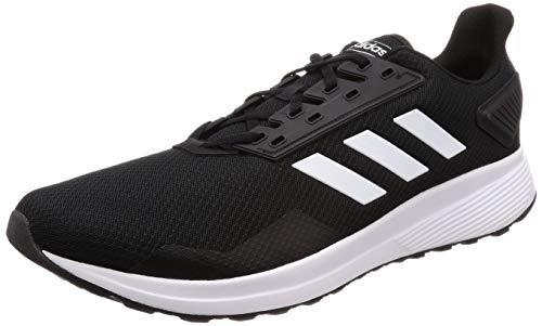 adidas Duramo 8 M, Zapatillas de Running para Hombre, Negro (CarbonCore BlackHires Red 0), 39 13 EU