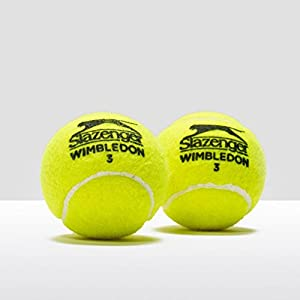 Slazenger Wimbledon Tennis Balls - Tube of 4 ITF Approved Balls (Purple Tube) Review 2018