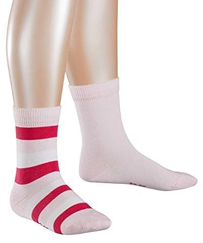 ESPRIT KIDS Mädchen Socken Block Stripe Doppelpack 2er Pack, Mehrfarbig (Lady Pink 8996), 39