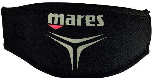 Mares Neoprenüberzug für Maskenband schwarz