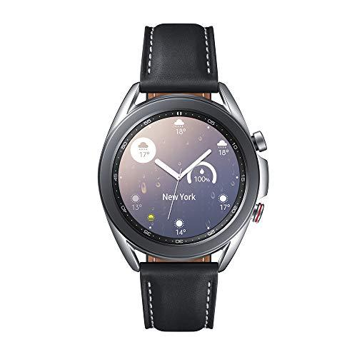 Oferta de Samsung Galaxy Watch3 Smartwatch de 41mm I LTE I Reloj inteligente Color Plata I Acero [Versión española]