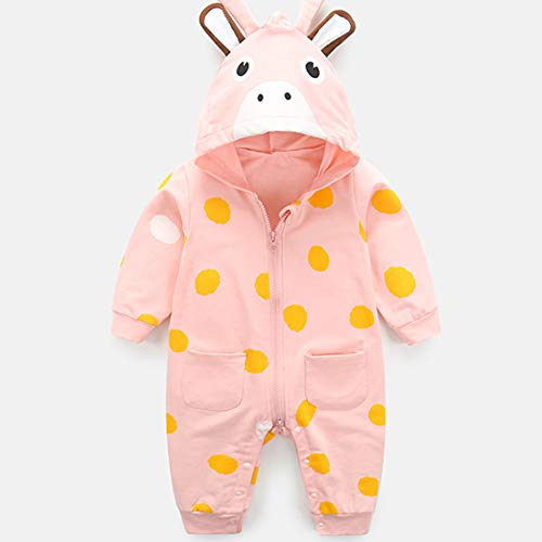 HBOY Vêtements pour bébé, Barboteuse, Combinaison, body-Pink-73cm