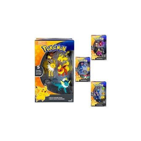 Pokémon - Multi Pack 5 Figuras (Bizak 30699165)
