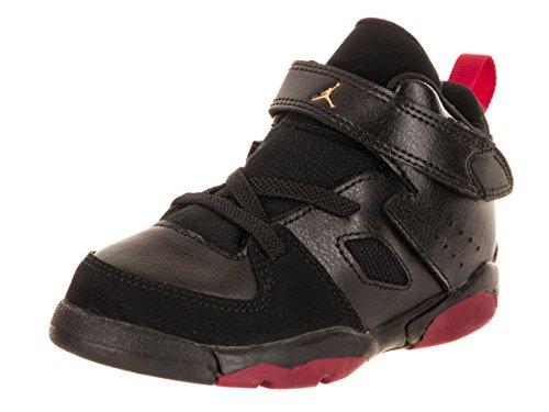 Jordan Nike niños pequeños FLTCLB Zapato '91 BT Baloncesto 7 Infantes de EE.UU. Bebé niño Negro/Rojo del Equipo Universitario de Diente de león 7 M US Niño