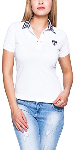 Giorgio Di Mare - Polo - Femme Weiß