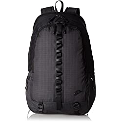 Nike Karst Cascade Backpack - Mochila para Mujer, Color Gris/Negro, Talla única