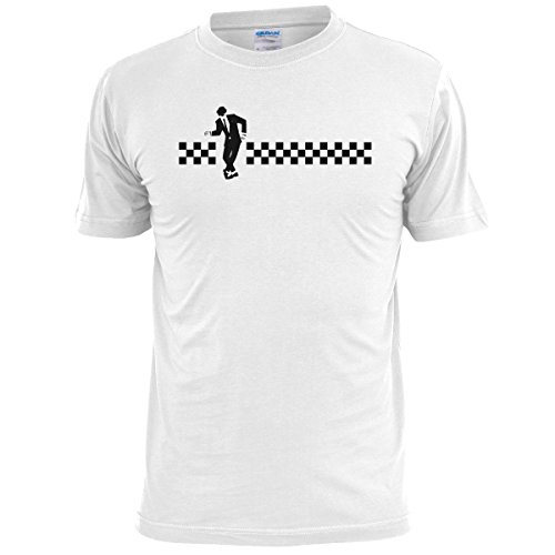 dancing-rude-boy-mens-t-shirt-2tone-two-tone-ska-specials-dammers-free-uk-postage-x-large-46-48-whit