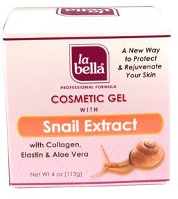 La Bella Cosmetic Gel with Snail Extract, 4 Ounce by La Bella