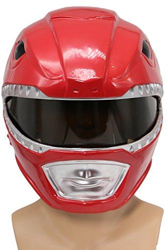 Cosplay Kostüm Helm Mighty Classic Rot Maske Verrückte Kleidung Replik für Erwachsene Party Zubehör ()