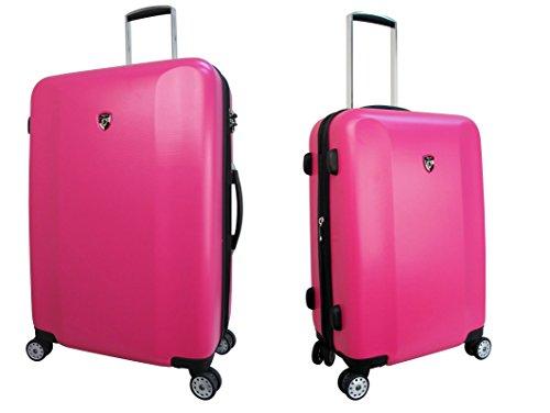 Sets de Bagages, valises - Première Classe Valise Rigide Set 2 pièces - Heys Core Quad Rose Trolley avec 4 Roues Mèdias + Trolley avec 4 Roues Grand