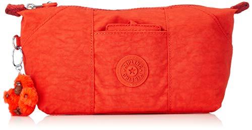 Kipling Damen Art Pouch Münzbörse, Active Red, 28x14x8 cm