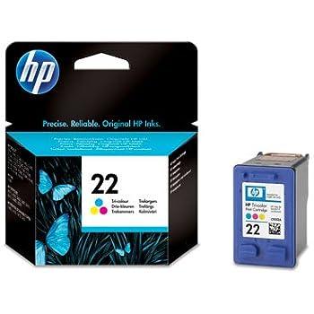 1 Original Printer Ink Cartridge for HP Deskjet F380 - Tri-Colour