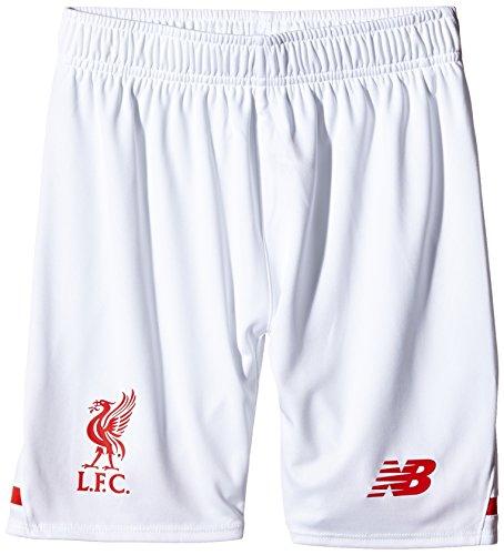 New Balance Liverpool FC Away Junior Short–weiß, X-Large