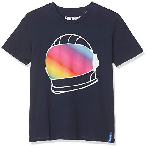 Fortnite 10118 Camiseta, Azul Bleu Foncé, 14 años para Niños