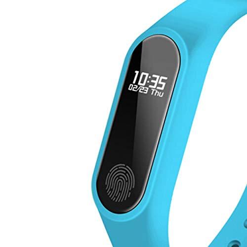 Lorenlli Fit M2 Smart Armbanduhr Tragbare Pulsuhr Wasserbeständigkeit Fitness Schrittzähler Multifunktionale Sport Armband