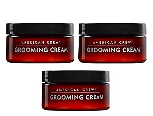 3er Styling Creme American Crew Grooming Cream je 85 g = 255 g