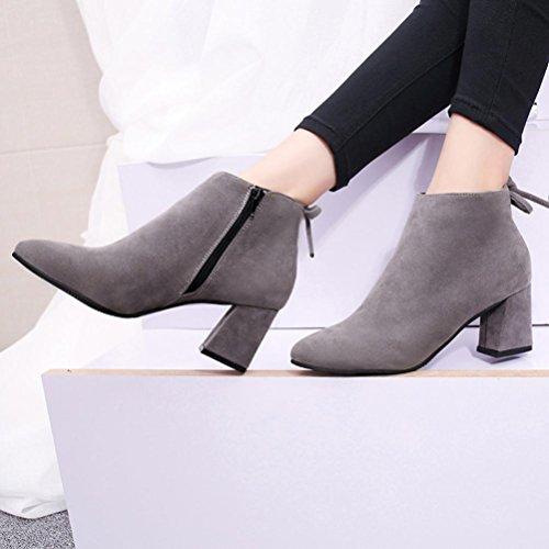 SOMESUN, Stivali donna nero Black Grey