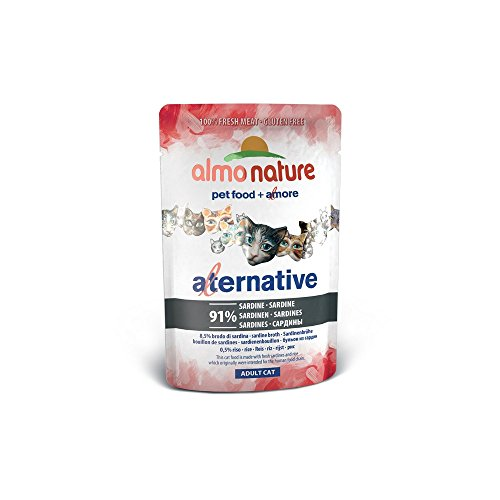 ALMO NATURE Alternative alle sardine 55gr - Mangimi umidi per gatti