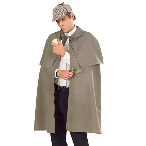Widmann - Kostüm - Schwerer Stoffumhang (Detektiv), Männer, CS923358, 100 cm