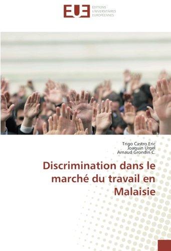 Discrimination dans le marché du travail en Malaisie