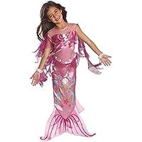 Rubbies - Disfraz de sirena para niña, talla S (3 - 4 años) (882720-SM)