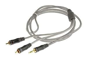 Cable audio Hitachi JACK / 2RCA 1,5M