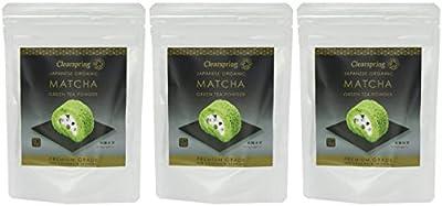 (3 PACK) - Clearspring - Org Matcha Green tea Premium   40g   3 PACK BUNDLE