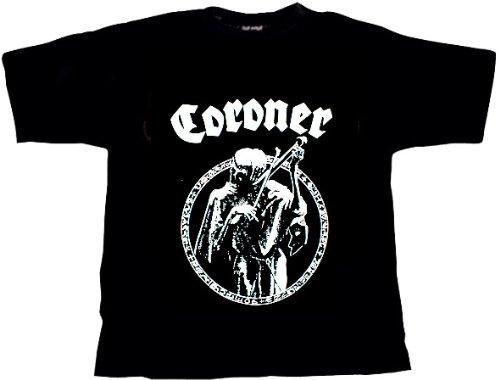 Coroner Logo T-Shirt, XL / Extra-Large (ga 33) -