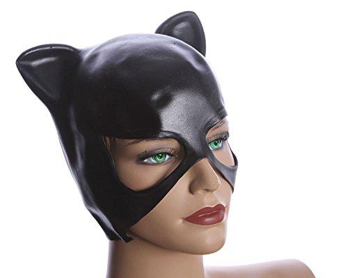 Máscara de Catwoman carnaval máscara de látex original Catwoman de Batman máscara