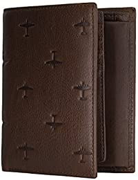 FOSSIL Pilot International Combi Bifold Brown