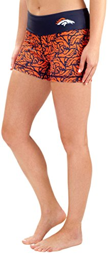 FOCO Denver Broncos Damen Bootie Shorts, Größe XL