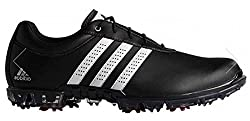 adidas Herren Adipure Flex Wd Golfschuhe, Schwarz (Core Black/White/Power Red), 44 EU