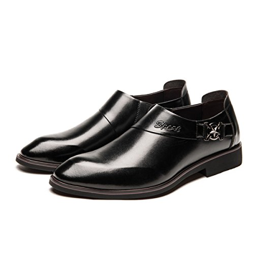 Nouvelle-angleterre Robe Chaussures Hommes D'affaires Chaussures En Coton Ultra-fiber Chaussures De Mariage Auvent Chaussures Occasionnels Blackpluscotton